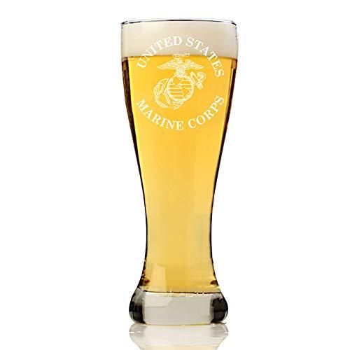 United States Marine Corps, USMC Beer Glass Gift, Custom 16 ounce ...