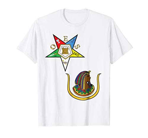 OES Daughters of Isis Split T Shirt PHA Eastern Star Tee DOI from 357 Designs