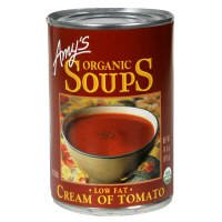 Amy's Organic Soups, Low Fat, Cream of Tomato, 14.5 oz, (pack of 3)