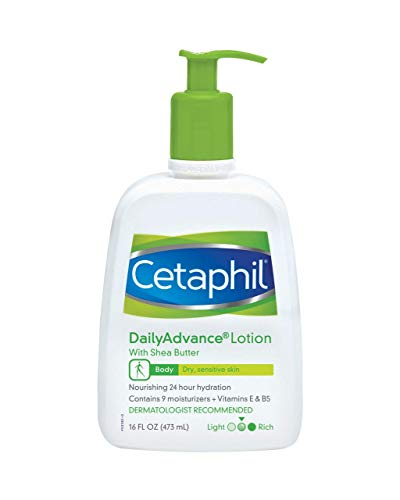 - Cetaphil DailyAdvance Ultra Hydrating Lotion for Dry/Sensitive Skin 16 oz ( Pack of 3)