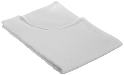 (American Baby Company 30X 40-Soft100% Natural Cotton Thermal/WaffleSwaddleBlanket, White, Soft Breathable, for Boys and Girls)