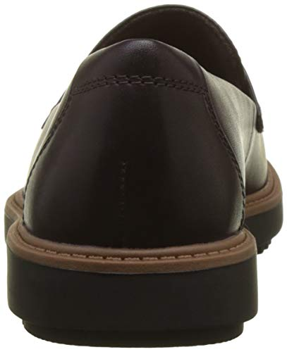 Violet Clarks aubergine Femme Raisie loafers Arlie Mocassins FPXrSF
