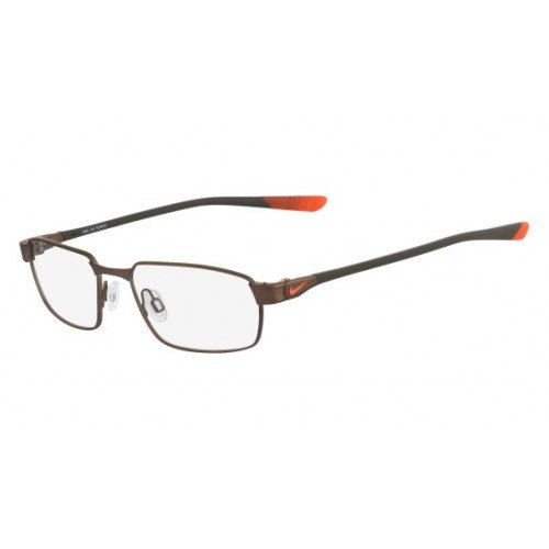 Eyeglasses NIKE 4274 246 SATIN WALNUT-TOTAL ORANGE