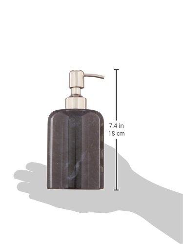 Creative Home Internal Spa Collection Black Marble Liquid Soap Dispenser by Creative Home (Image #4)