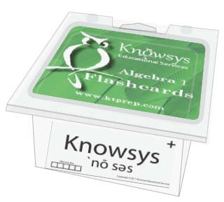 Download Knowsys Basic Genius Math Flashcards: Algebra I pdf