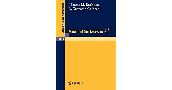 Minimal Surfaces in R3