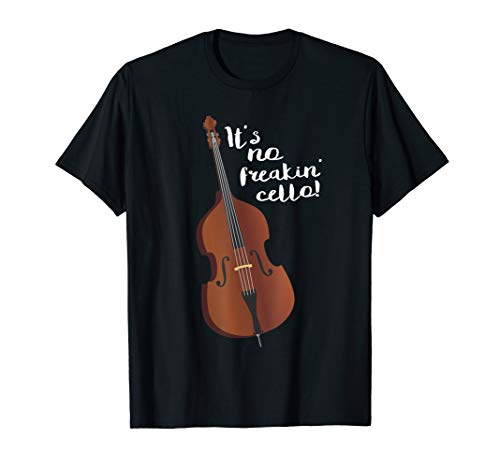 Double Bass Funny Jazz Instruments Music T-Shirt