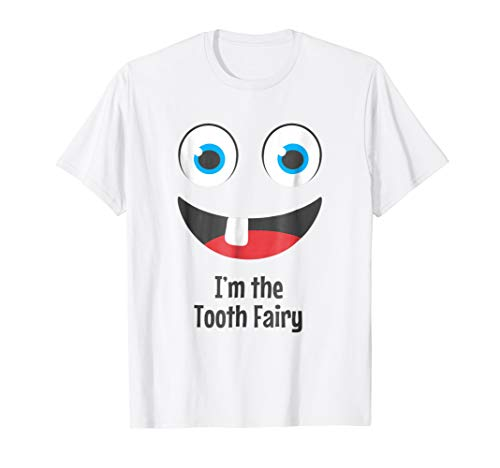 Funny Tooth Fairy T Shirt Halloween Costume -