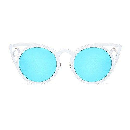 Soleil Femmes Nuances Lunettes de KOMEISHO la Lunettes Designer Plage de Vacances Protection Chat des Conduite UV la des C3 Gracieux pour nouveauté Brillants d'été PtwYvw