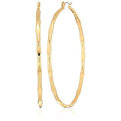 hot sell Panacea Womens Large Gold Hoop Earrings, Gold, One Size