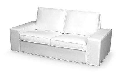 Amazon De Bezug Fur Ikea Kivik 2er Sofa In Cotton Weiss Von Saustark