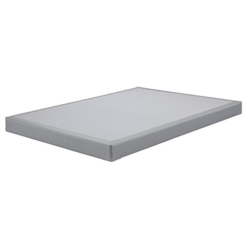 Ashley Furniture Signature Design - Ashley Sleep - Low Profile - Contemporary Queen Size Mattress Foundation - Gray