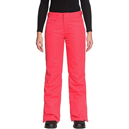 - Roxy Womens Backyard - Snow Pants - Women - M - Pink Teaberry M