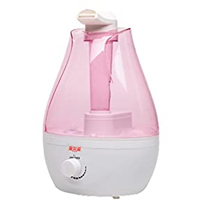 Creative Mini ultrasound Atomizer USES A large Capacity Air Purifier Humidifier (pink)