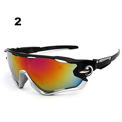UV400 Cycling Eyewear MTB Bike Bicycle Racing ski Windproof Goggles Outdoor Sport Glasses Eyewear Men Women sport ()