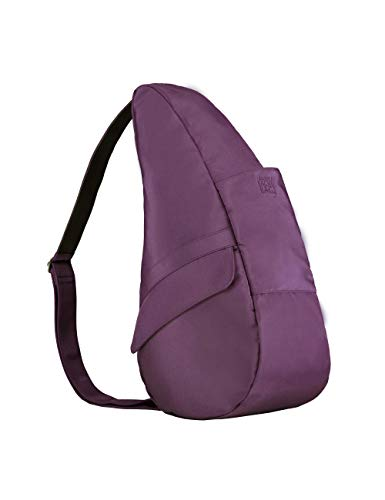 (AmeriBag Classic Healthy Back Bag tote Microfiber Small (Black Plum))