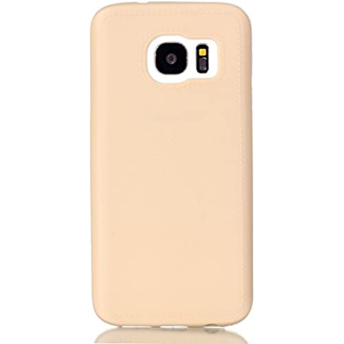 Samsung Galaxy S7 Case, [Drop Protection][Slim Cushion] Shock Resistant Protective Premium Soft TPU Case Slim Case for Samsung Galaxy S7 (For Galaxy S7 - Beige) Sales