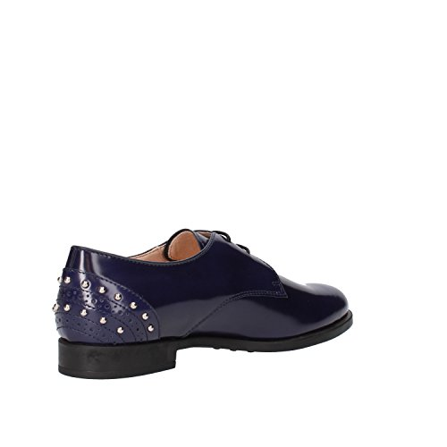Shoes Black EU Woman US Oxfords Leather Blue Tod's Blue 36 6 xgTHpp