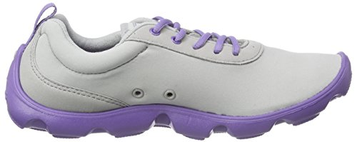 Day u Da Busy Duet blue light Crocs Violet Grigio Basse Donna Ginnastica Lace Grey Scarpe EnwSCIqR