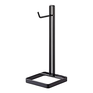 YAMAZAKI home Bautes Square Headphone Stand, Black
