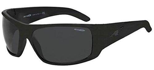 Arnette La Pistola Wrap Sunglasses FUZZY BLACK 66 mm