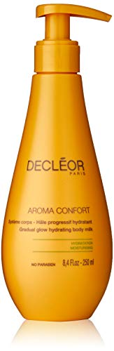 - Decleor Aroma Comfort Gradual Glow Hydrating Body Milk for Women, 8.4 Ounce