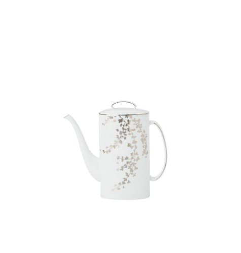 Platinum Coffee Pot - Kate Spade Gardner Street Platinum Coffeepot W/Lid