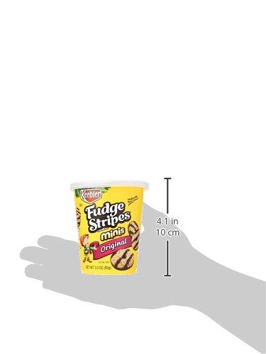 KeeblerFudge Stripes Cookies Minis in a Cup, Original, 3 oz by Keebler (Image #8)