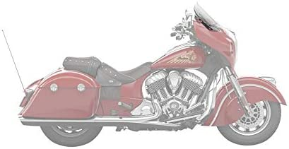 2880222-02 Indian Motorcycle Polycarbonate 13.7 in Tinted Flare Windshield