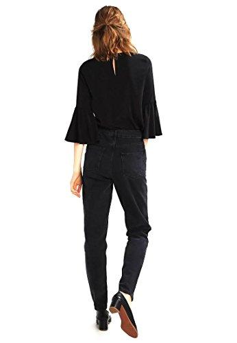 TOPSHOP Damen Jeans Tapered Fit washedblack W30/L34 yAjpzQ ...