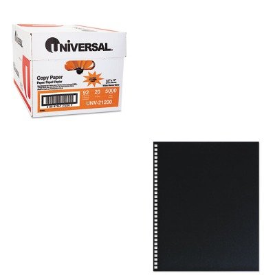 KITSWI2514478UNV21200 - Value Kit - Swingline ProClick Pre-Punched Presentation Covers (SWI2514478) and Universal Copy Paper (UNV21200)