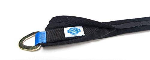 Macs Tie Downs 416006 Black 32 Fleece Sleeve Strap Protector