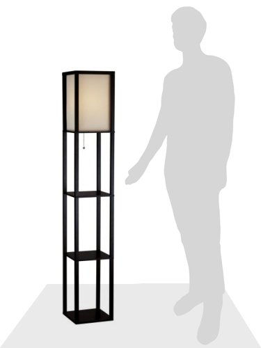 Adesso In. Floor Lamp Smart Switch Compatible Fixtures