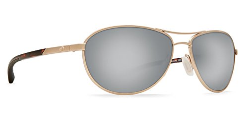 Costa Del Mar KC 580P KC, Rose Gold Silver Mirror, Silver - Sunglasses Costa Kc