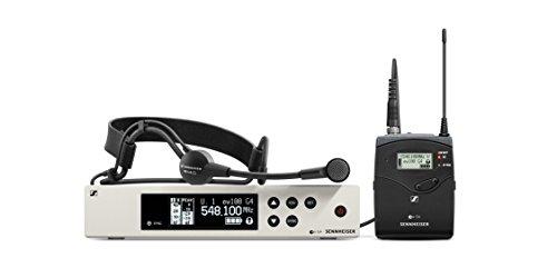 (Sennheiser EW 100-ME3 Wireless Cardioid Headset Microphone System-A Band (516-558Mhz), 100 G4-ME3-A)