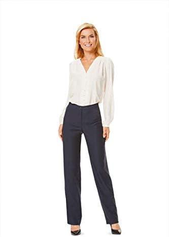 Free UK P/&P Burda Ladies Easy Sewing Pattern 6681 Sleek Narrow Trousers...