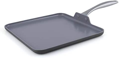 "GreenPan Lima 11"" Ceramic Non-Stick Squa"