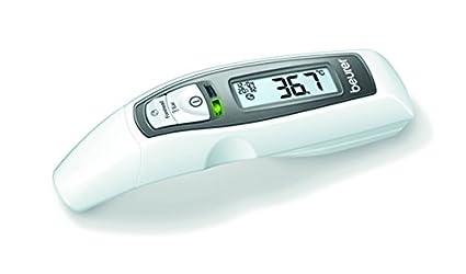 Beurer FT 65 - Termómetro digital multifunción (6 funciones), color blanco