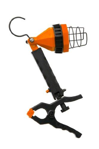 Designers Edge L855 35-watt Portable Halogen Clamp Lamp Worklight, Orange