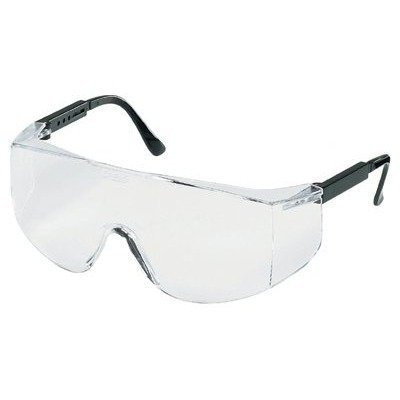MCR TC110 XL Crews Tacoma Safety Glasses Clear Lens, Oversized, 1 - Tacoma Sunglasses