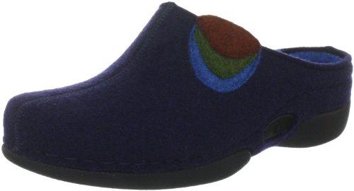 Berkemann Extra dunkelblau Lauren Donna 350 blau 01565 Pantofole 350 Blu Item RqRSxrnwH