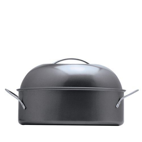 Ecolution Kitchen Extras High Dome Roaster, 16-Inch by 11-Inch