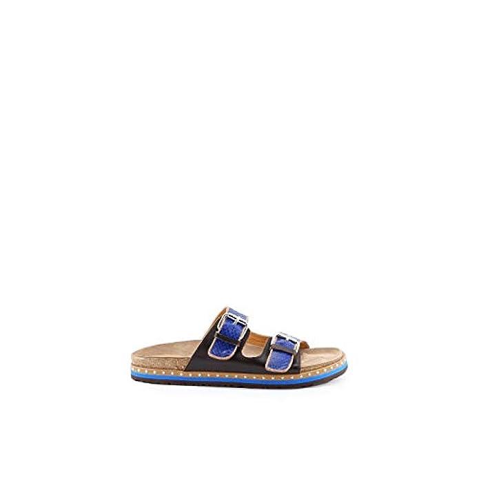 Malìparmi Sandali Donna 181sj0177blue Pelle Blu