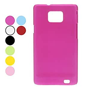 Dull Polish Hard Case for Samsung Galaxy S2 I9100 (Assorted Colors) --- COLOR:White