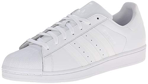 adidas Originals Men's Superstar Foundation Casual Sneaker, White/White/White, 13.5 D(M) US