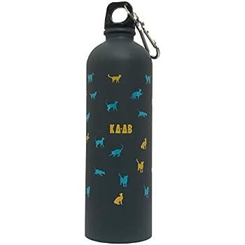 KA-AB Botella de Acero Inoxidable para Agua Diseño Gatos Capacidad 750ml