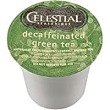 vue iced coffee - CELESTIAL DECAFFEINATED GREEN TEA K CUPS 24 COUNT