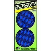 "HY-KO PROD Nail-On Reflector, 2 Pack, 3-1/4"", Blue (CDRF-5B)"