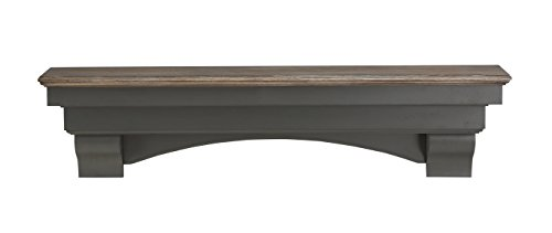 Pearl Mantels 499-48-27 Hadley Mantel Shelf, 48-Inch, Cottage ()