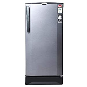 Godrej 190 L 5 Star Inverter Direct-Cool Single Door Refrigerator with Jumbo Vegetable Tray (RD 1905 PTI 53 SI ST, Sleek…